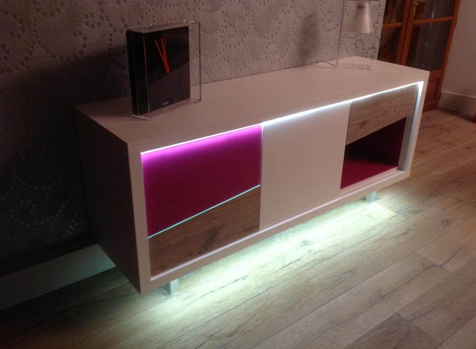 meuble bas l 39 atelier du marais. Black Bedroom Furniture Sets. Home Design Ideas